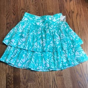 NWT Milly Tiered Skirt sz 6